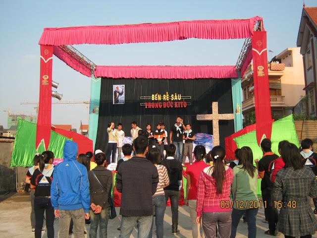 Lễ bổn mạng thánh Phanxico Xavie và sinh nhật lần thứ 3 của SVCG Cổ nhuế
