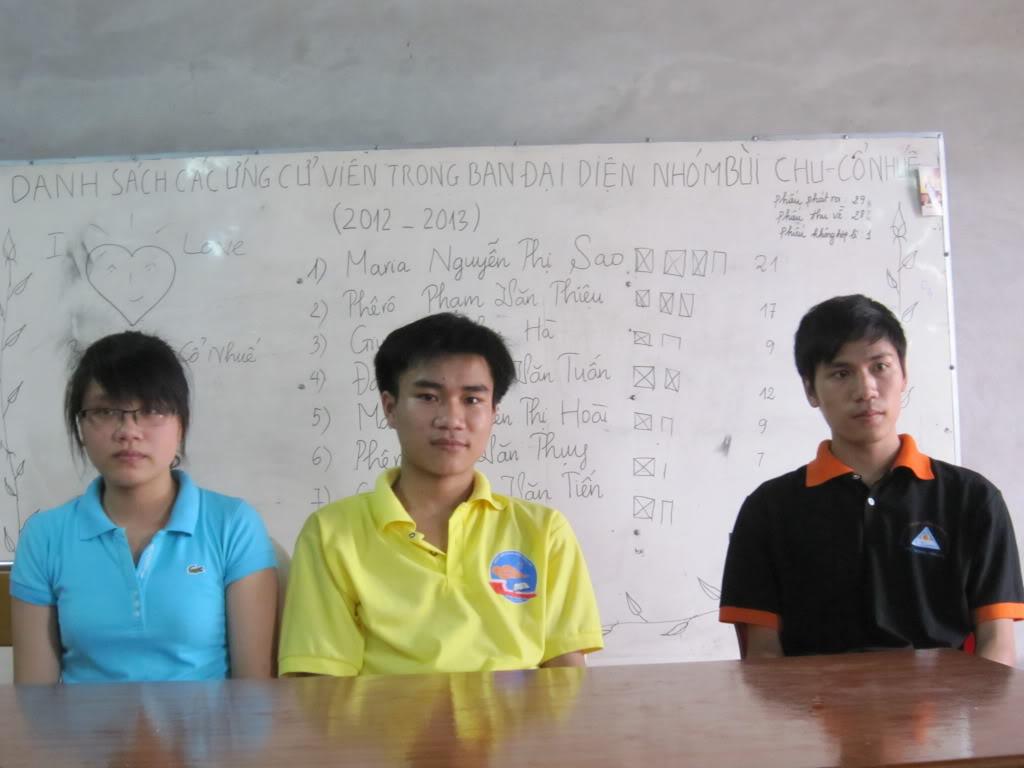Ban Điều Hành mới của nhóm Bùi Chu – Cổ Nhuế