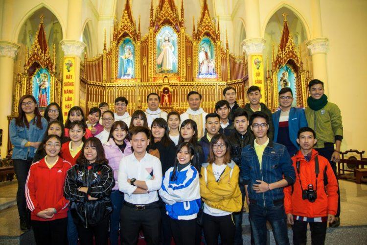 Lễ Kính Đức Maria Vô Nhiễm Nguyên Tội và Sinh Nhật lần thứ VII Nhóm SVCG Bùi Chu Nam Định