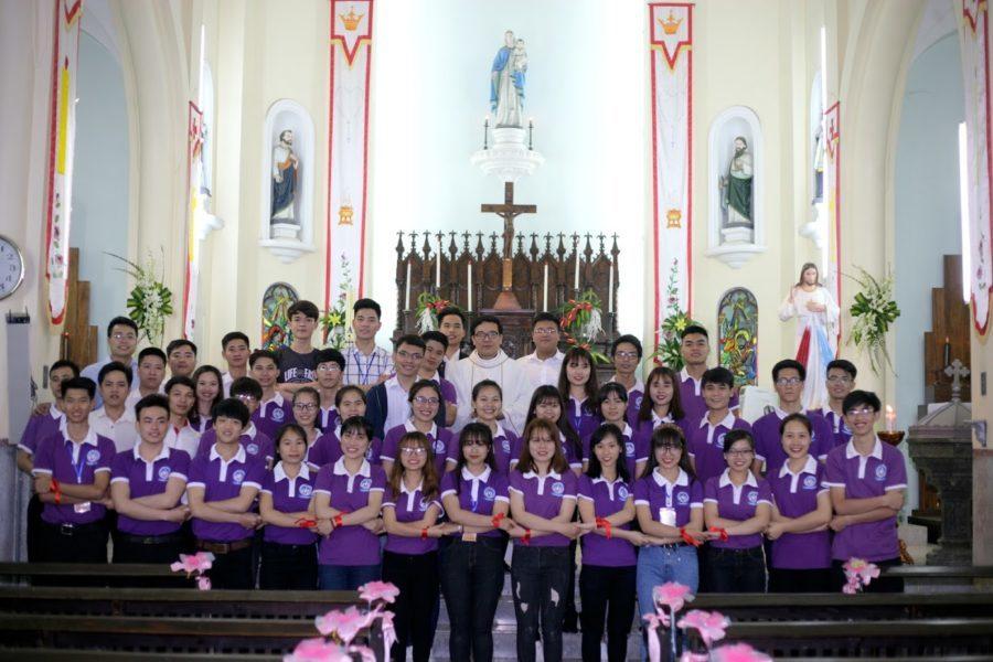 Lễ Truyền Thống Nhóm SVCG Phùng Khoang – Bùi Chu 2017