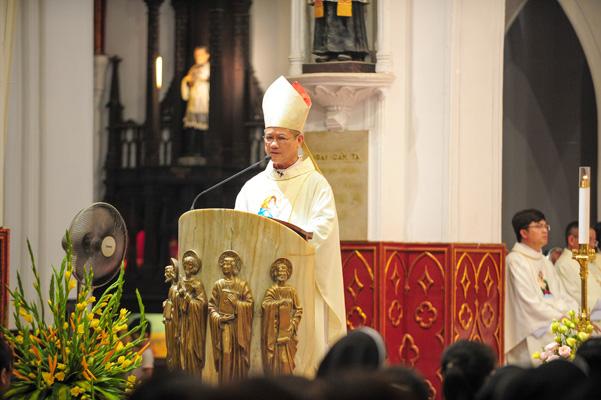 Di dân Bùi Chu mừng lễ quan thầy thánh Monica năm 2018