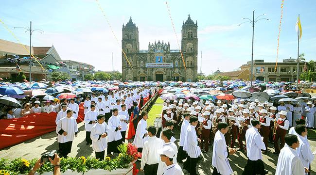 Hình ảnh Lễ Đầu Dòng Giáo phận Bùi Chu năm 2018