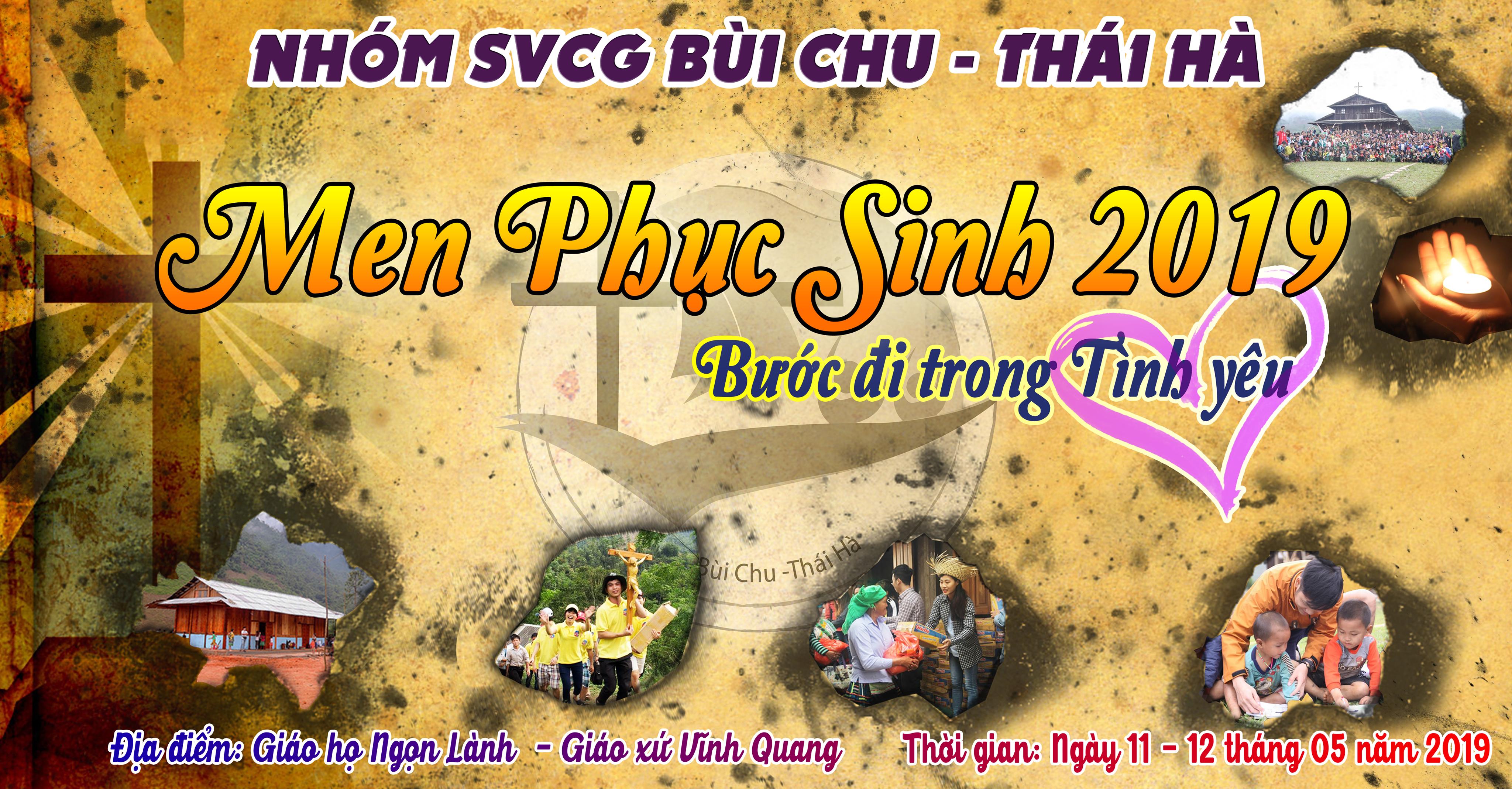Chương trình Men Phục Sinh 2019 – nhóm SVCG Bùi Chu – Thái Hà