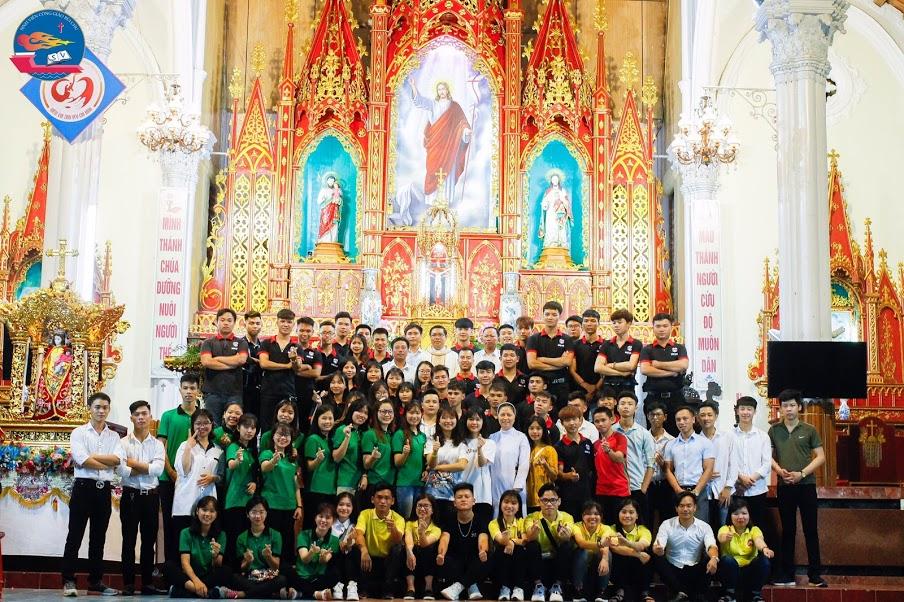 """Hành Trình """"Thiện Nguyện Mùa Phục Sinh 2019"""" Sinh Viên Công Giáo Bùi Chu nhóm Nam Định"""